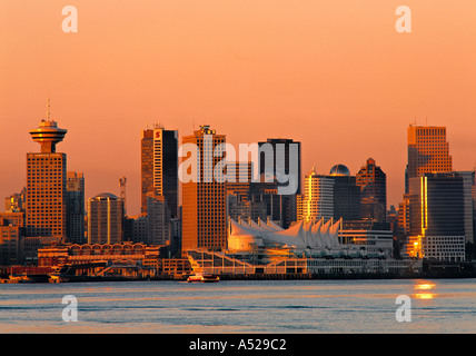 Vancouver, British Columbia, Canada - Stock Image