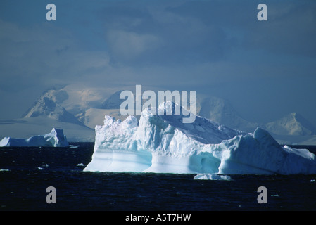 Iceberg in the Neumayer Channel Antarctica - Stock Image