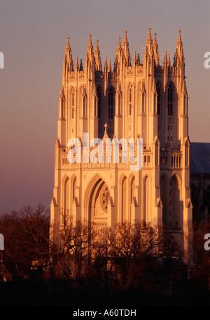 Washington National Cathedral, Washington, D.C. - Stock Image