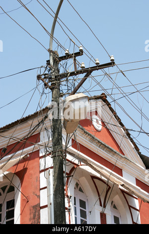 Electricity Wires In India Stock Photos & Electricity Wires In ...