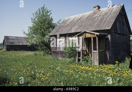 Peasant labour stock photos peasant labour stock images alamy - Traditional polish houses wood mastership ...