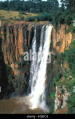 South Africa Waterfall Howick Falls KwaZulu Natal - Stock Image