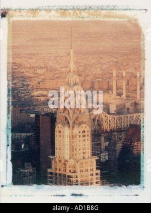 Chrysler Building, New York City, USA - Stock Image
