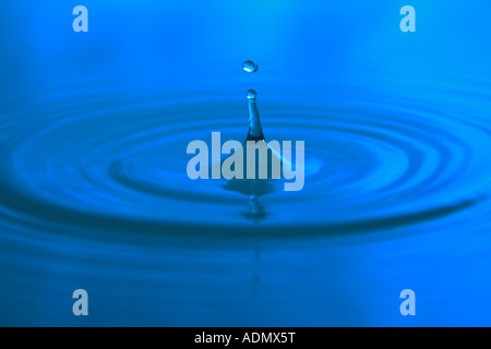 Water droplet - Stock Image