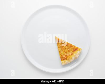 Slice of pizza - Stock Image