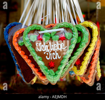 gingerbread heart message stock photos gingerbread heart message stock images alamy. Black Bedroom Furniture Sets. Home Design Ideas