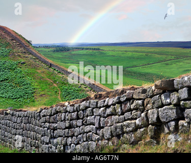 GB - NORTHUMBERLAND: Hadrian's Wall - Stock-Bilder