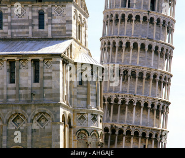 IT  - TUSCANY:  Leaning Tower of Pisa - Stock-Bilder