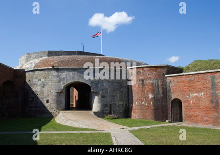 Hurst Castle Interior, Hurst Spit, Keyhaven, Hampshire, UK - Stock Image
