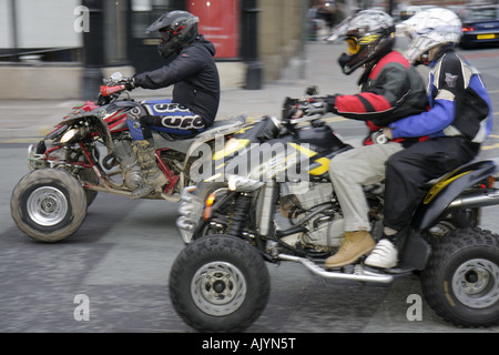 UK, England, Manchester, City Centre, Liverpool Road, all terrain vehicles, - Stock Image