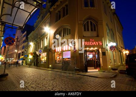T G I Friday S Restaurant Riga