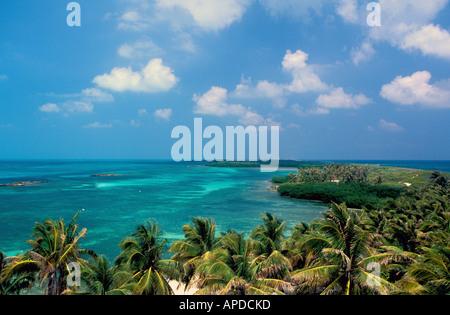 Mexico Isla Contoy National Park - Stock Image