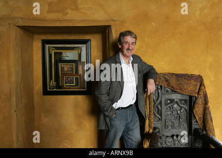 Actor John Challis at his home in Herefordshire - Stock-Bilder