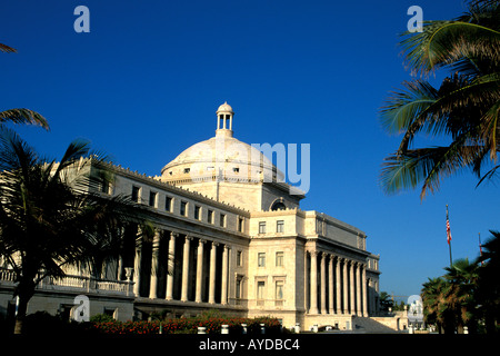 Puerto Rico Capitol Building - Stock Image