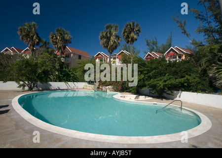 Jamaica Treasure beach Resort with Pool - Stock Image