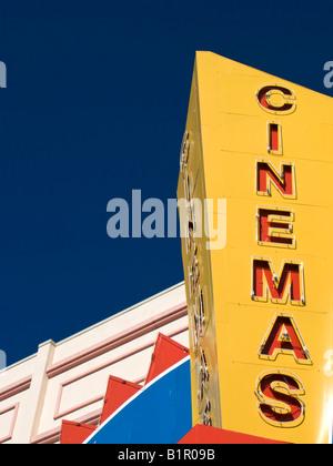 Movie Theatre Sign - Stock-Bilder
