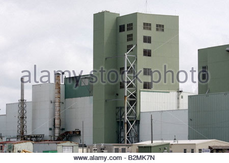 Indiana Portage USS US Steel ArcelorMittal Steel Mill factory industry manufacture business military commercial - Stock Image