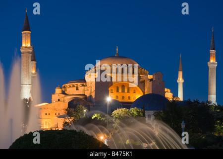 Hagia sophia istanbul - Stock Image