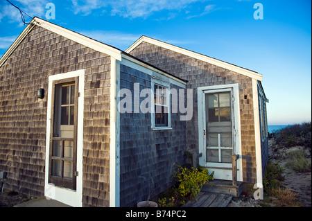 Beach cottage Eastham Cape Cod MA Massachusetts USA - Stock Image