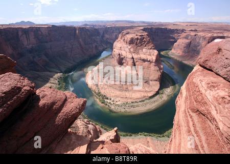 Horseshoe Bend, Arizona - Stock Image