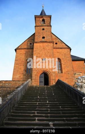 The pilgrimchurch of Gügel Guegel near Scheßlitz Schesslitz Upper Frankonia Bavaria Germany - Stock-Bilder