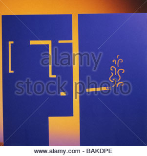Head Smoking - Stock-Bilder