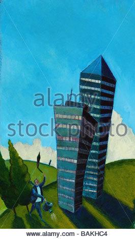 Office Towers - Stock-Bilder