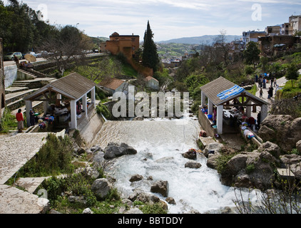 Public Washing Place, Chefchaouen, Morocco, North Africa - Stock-Bilder