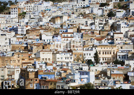 View of Chefchaouen, Morocco, North Africa - Stock-Bilder