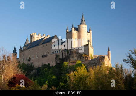 Segovia Castle, Segovia, Spain - Stock Image