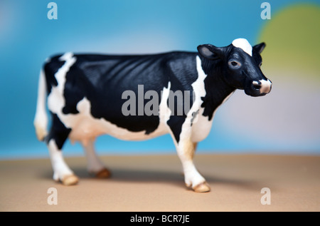 Model cow - Stock Image