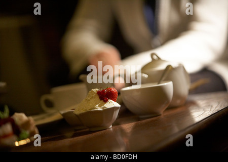 ENGLISH AFTERNOON TEA  CAKES CUP - Stock Image