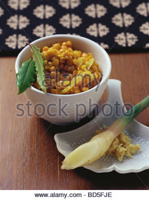 Indian lentils - Stock Image