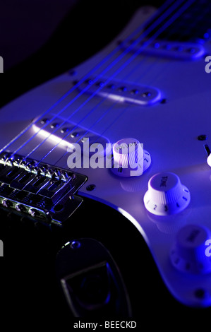 Electric Guitar - Stock Image
