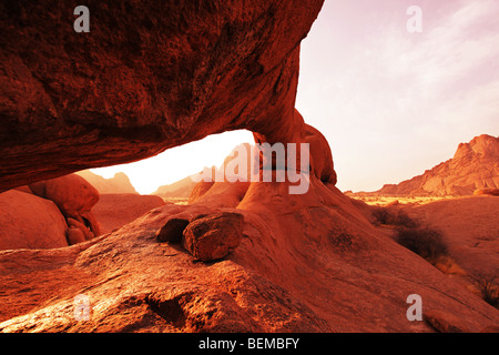 Arch in Namibia - Stock Image