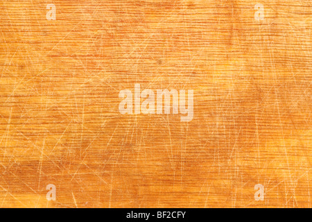 Well-used wood chopping board providing good texture for backgrounds - Stock-Bilder