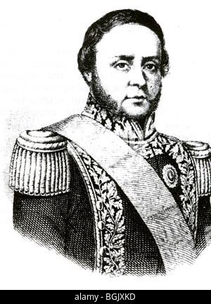 JUSTO JOSE de URQUIZA   (1801-70)    Argentinian politician - Stock Image