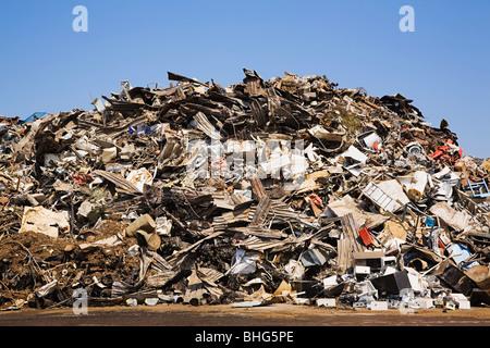 Waste pile - Stock Image