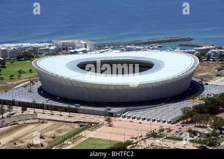 South Africa, Cape Town: Green Point Stadium, venue of the FIFA soccer Worldcup 2010 - Stock Image