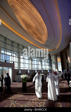Riyadh Saudi Arabia kingdom conference business - Stock Image