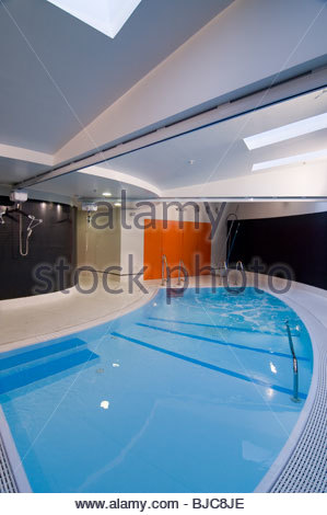 Indoor swimming pool uk stock photos indoor swimming Hotels with swimming pools in glasgow