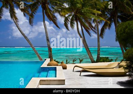 Resort on Rarotonga, Cook Islands - Stock-Bilder