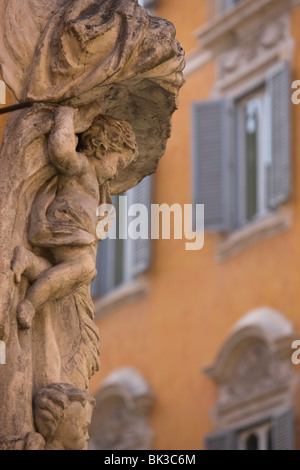 Statue, Rome, Lazio, Italy, Europe - Stock-Bilder