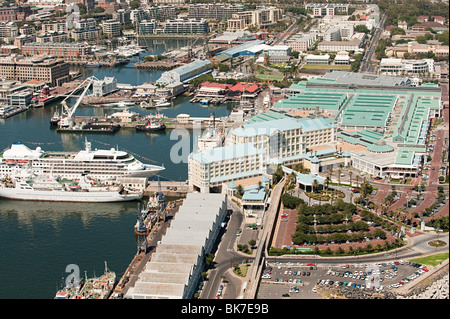 Cape town harbor - Stock Image