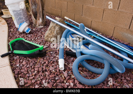 Pool Cleaning Stock Photos Pool Cleaning Stock Images Alamy