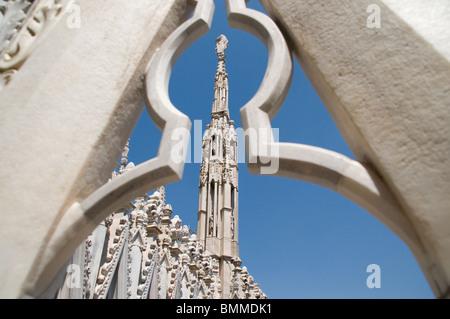 Milan Cathedral, Duomo di Milano, Italy - Stock Image