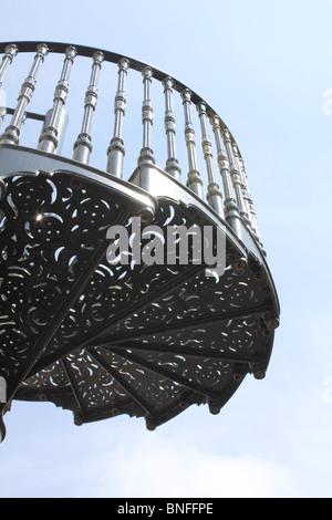 Victorian staircase stock photos victorian staircase for Victorian spiral staircase