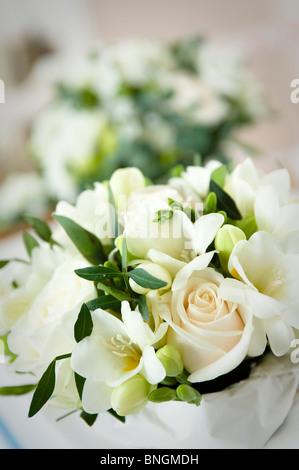 Wedding flowers - Stock Image