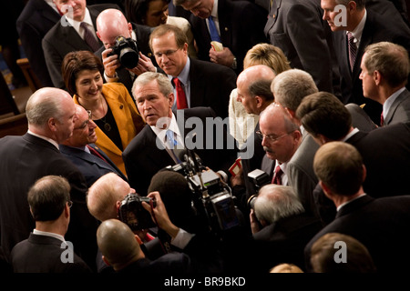 an analysis of president bush state of the union address to congress Times reporters analyzed president trump's address to congress on  congress and democrats' response: video and  state of the union it.