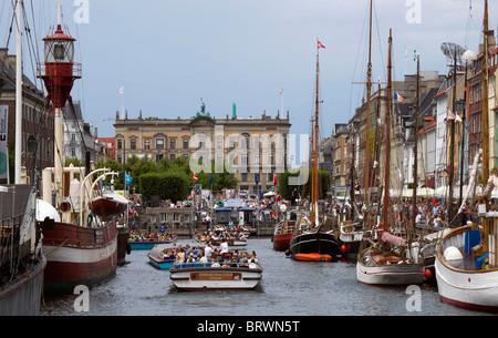 Nyhavn Copenhagen - Stock Image